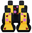 Cc Front And Rear Car Seat Covers Vw Beetle Daisy Lady Bug Choose Colors