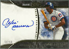2016 Andre Dawson Topps Tier 1 One on Card Auto #50 50 - 1 1