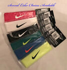 Nike Tennis Dri Fit Swoosh Headband Head Tie color choices available