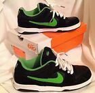NIB NIKE AIR ZOOM ONCORE SKATE SHOE BLACK LIME GREEN WOMENS SIZE 8