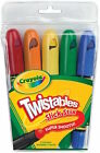 Crayola Twistables Slick Stix Crayons Select 5 Or 12 Pieces Super Smooth