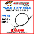 ALL BALLS 45 1062 MX YAMAHA THROTTLE CABLE PW50 PW 50 50cc 2003 2015 OFF ROAD