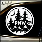 Vinyl Decal PNW Pacific Northwest Sticker Car Truck unique custom subaru jeep vw