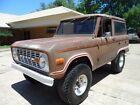 Ford Bronco Black 1972 ford bronco 4 x 4 project