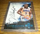2015 court kings impressionist ink victor oladipo on card auto blue 10 25