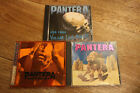 PANTERA 3 Live CD Vulgar Live Power, Mouth For War, Live And Alive limited editi