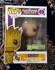 Funko Pop MARVEL Guardians of the Galaxy GID Groot Loot Crate Exclusive #49 NIB
