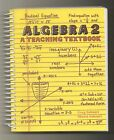 ALGEBRA 2 TEACHING TEXTBOOK + 4 LECTURE  PRACTICE CDs + 6 SOLUTIONS CDs