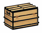 Bachmann 92417 Miniature Steamer Trunk For Dioramas or G Scale Railroad NEW