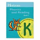 USED VG Horizons K Phonics and Reading Book 4 Lifepac by Alpha Omega