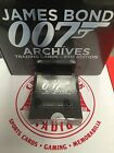 JAMES BOND 007 ARCHIVES - RITTENHOUSE SEALED BOX 8500 & BINDER 24 Packs Card