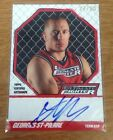 2010 Topps Georges St-Pierre The Ultimate Fighter Coach Auto 27 50! Rare