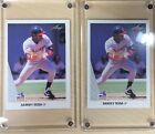 Lot of 2 - 1990 Leaf Sammy Sosa Rookie Cards # 220, Chicago White Sox Non Auto