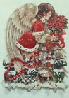 Heaven and Earth Designs Christmas Angel Counted Cross Stitch Pattern Holidays