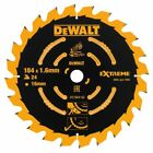 DEWALT DT1669 184mm 24 Tooth TCT Blade For DCS365 Cordless Mitre Saw