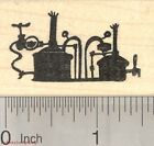 Beer Brewing System Rubber Stamp Still D27817 WM
