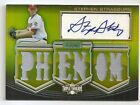 2010 TOPPS TRIPLE THREADS STEPHEN STRASBURG RC AUTOGRAPH MATERIAL 9 GOLD AUTO