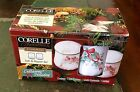 CORELLE COORDINATES CALLAWAY HOLIDAY SALT AND PEPPER SHAKERS IN BOX