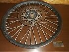 00 Yamaha WR400F WR 400F WR400 Genuine Front Wheel Hub Spoke Rim Set Blk GOOD OE