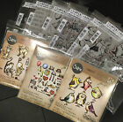 Tim Holtz Stampers Anonymous CRAZY COLLECTION Bird Talk Things Cats SIZZIX