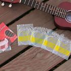 Durable Set of 4 Strings Black White Nylon Replacement Part For Ukulele Guitar