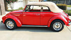 Volkswagen Beetle Classic Super Beetle Pristine build One of a Kind Convertible