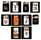 2 Kassa Fina Plush Velour Embroidered Halloween Hand Towels NWT You Pick Design