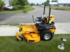 2015 HUSTLER 60 HYPERDRIVE ZERO TURN RIDING LAWN MOWER DEMO WARRANTY NA124545