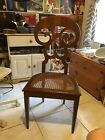 Biedermier Side Chair Replica Hand Constructed Cane/cushion Seat All Dowel Joint
