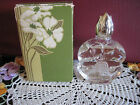 Vintage AVON DOGWOOD DEMI-DECANTER APPLE BLOSSOM Cologne .75 oz in ORIGINAL BOX