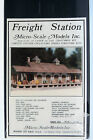 HO Craftsman Kit: Micro Scale Models Freight Station MSM 103 Factory Sealed
