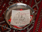 Royal Holland Pewter Basket w/Handle, by Daalderop, includes Mfgr's Notes