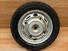 Honda SCV 100 Lead 2003 Rear Wheel Rim With Dud Tyre