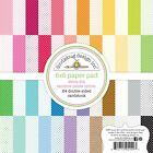 Scrapbooking Crafts Doodlebug 6X6 Paper Pad Swiss Dot Petite Prints Bright Color