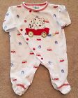 LITTLE ME PREEMIE PLAYFUL PUPPY FOOTED SLEEP N PLAY OUTFIT ADORABLE REBORN