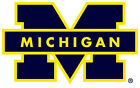 Michigan Wolverines NCAA Color Die Cut Decal Car Sticker Free Shipping