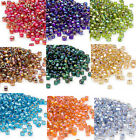 200 Rainbow Silver Lined Matsuno 6 0 Glass Seed Beads Spacer Beads