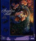 Peacock Daze 500 piece Jigsaw Puzzle by Josephine Wall NEW fantasy fairy art