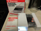vintage EMERSON telephone ANSWERING MACHINE (model PA5540 ) NEW!