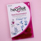 Heartfelt Creations Cling Rubber Stamps Regal Hummingbird HCPC3742 RETIRED