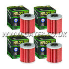 4 X Beta 250 Rev 4T 2007-2008 HI-Flo Premium Oil Filters HF207
