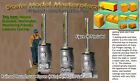Railroad Roundhouse Stove Kits (3kits) Thomas Yorke/ HO Fine Scale Craftsman