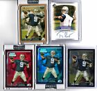 2003 TONY ROMO SP AUTHENTIC AUTO S# 1200 AND BOWMAN CHROME 5 CARD RC LOT