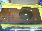 1937 Wurlitzer 616 Wooden Shelf &Turntable Cutout Cover & Hold Downs Excellent