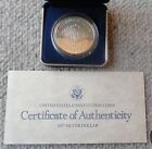 1987 PROOF United States Constitution Bicentennial 90 Silver Dollar Coin USMINT