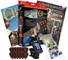 CHORD BUDDY Guitar Learning System Teaching Practrice Aid Lessons + TUNER PICKS