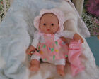Berenguer Smalli 11  Vinyl Cloth Chubby Preemie Newborn Baby Doll Play Reborn