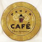Sakura Coffee Break Dessert Pie Plate Paris Cafe 9 Rue Fonteneau Green Stoneware