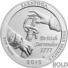 2015 Silver America The Beautiful ATB Saratoga NP New York 5 oz