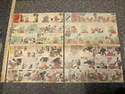 newspaper ad 1935 Mickey Mouse Silly Symphony Elmer Elephant 2 boxing gorilla